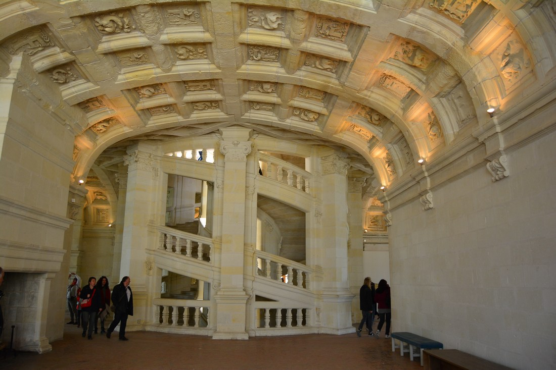 double escalier Chambord