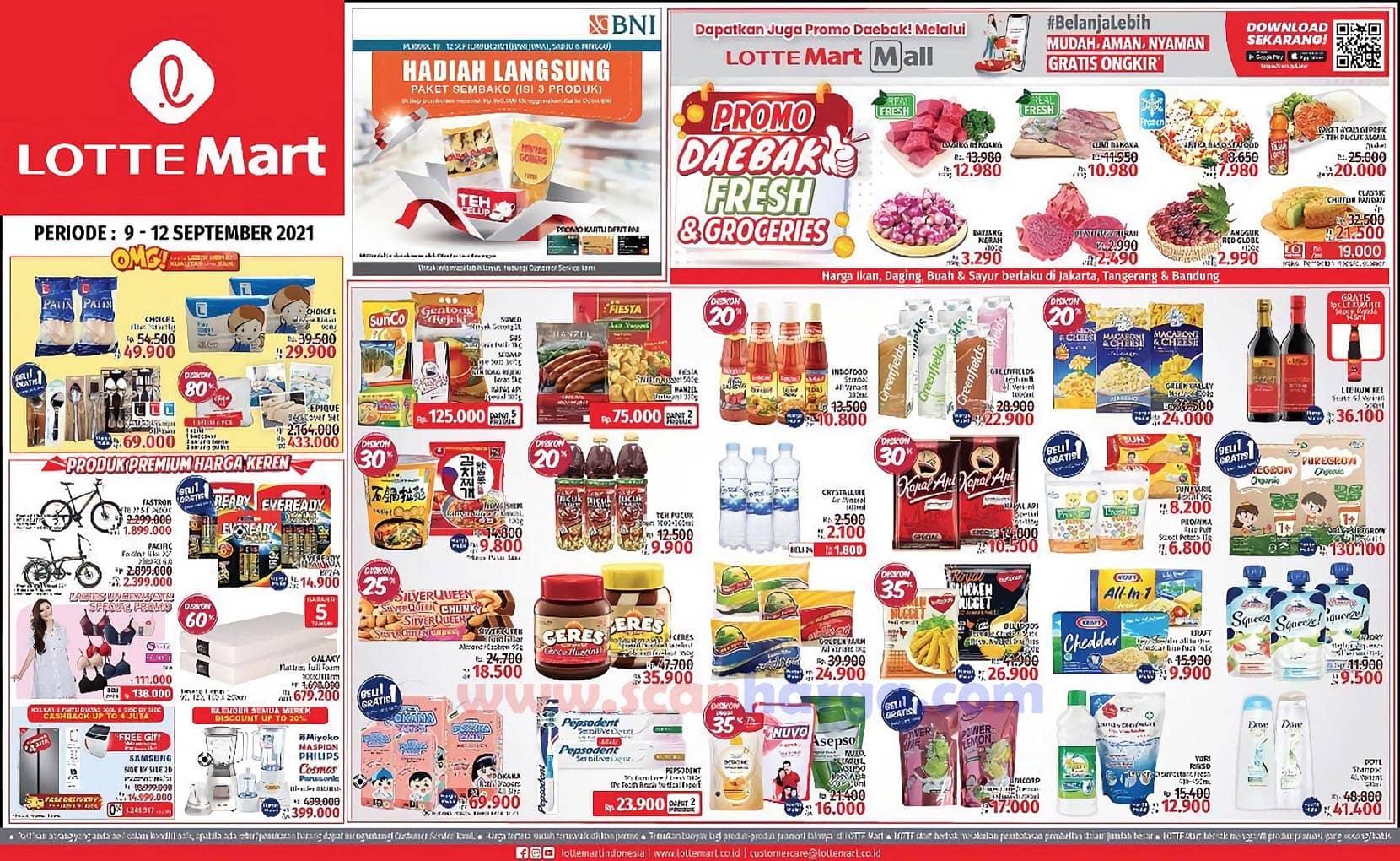 Katalog Promo Lottemart Weekend 9 - 12 September 2021