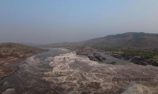 sungai besar di benua afrika