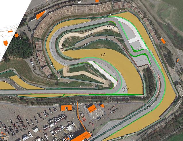 Ini layout Baru Sirkuit Catalunya Spanyol 2021