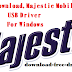 Majestic  Mobile, USB Driver, For Windows ,