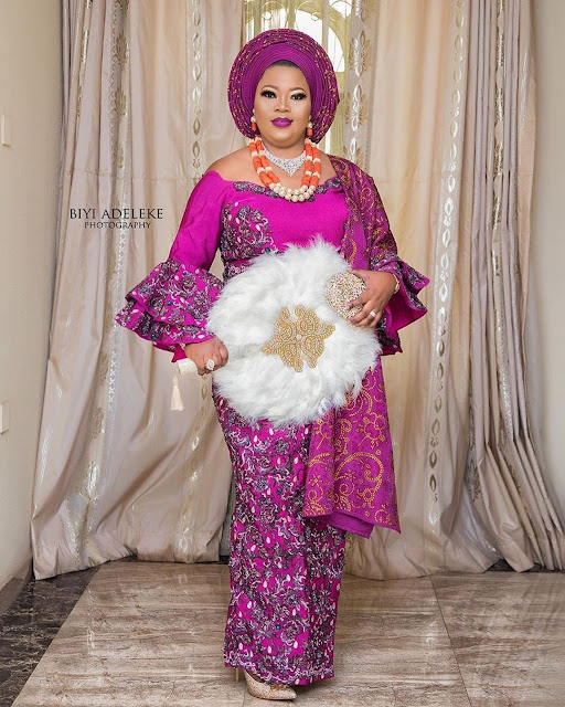 2019 Super Gorgeous Asoebi Styles for Pretty Ladies