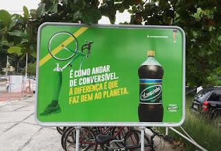Mineirinho incentiva uso de bicicleta em campanha