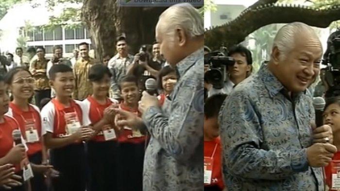 Masih Ingat Bocah yang Tanya Soeharto Kenapa Presiden Cuma Satu? Ternyata Begini Kabarnya Sekarang