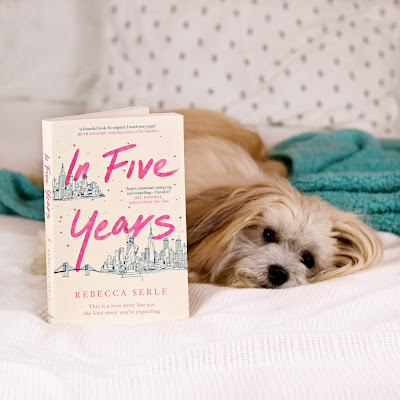 In Five Years Book Review with Puppy