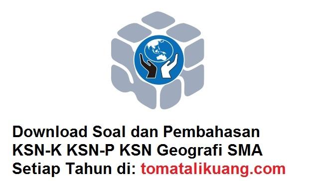 soal pembahasan ksn osn geografi sma tahun 2020 tomatalikuang.com
