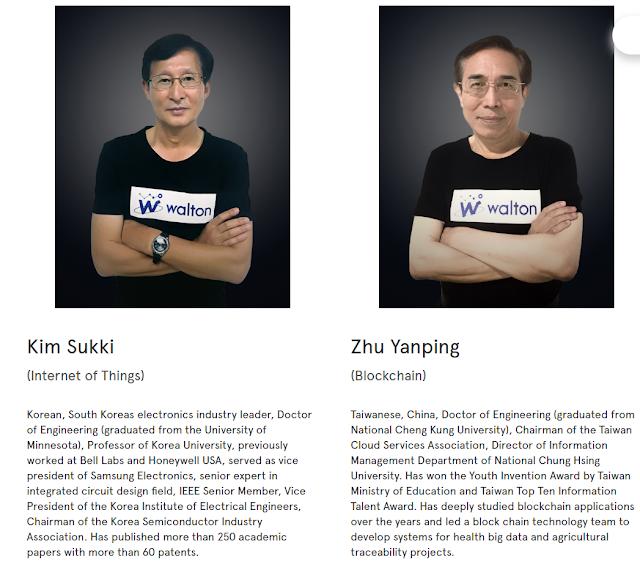 Waltonchain blockchain team