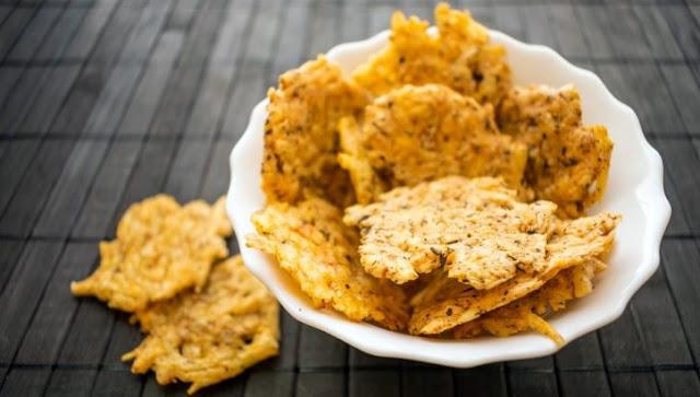 RANCH CHEDDAR CRISPS #lowcarb #snacks