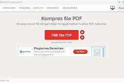 Cara kompres PDF melalui online dan Ms. Word