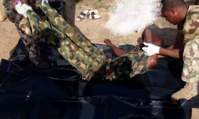 Soldier Commits Suicide At Duty Post In Yobe (Graphic Photos)