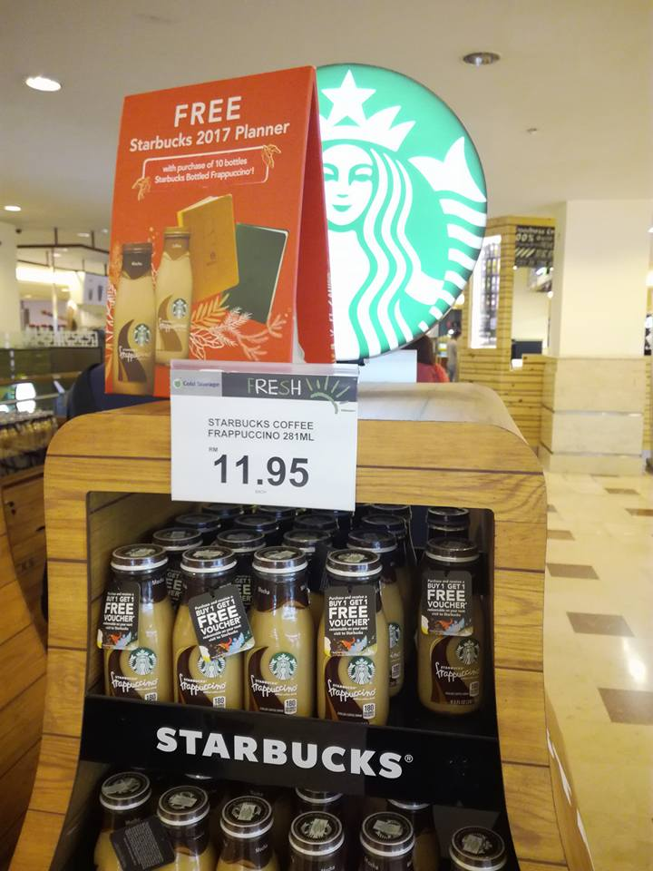 Purchase Starbucks Bottled Frappuccino Get Free 2017