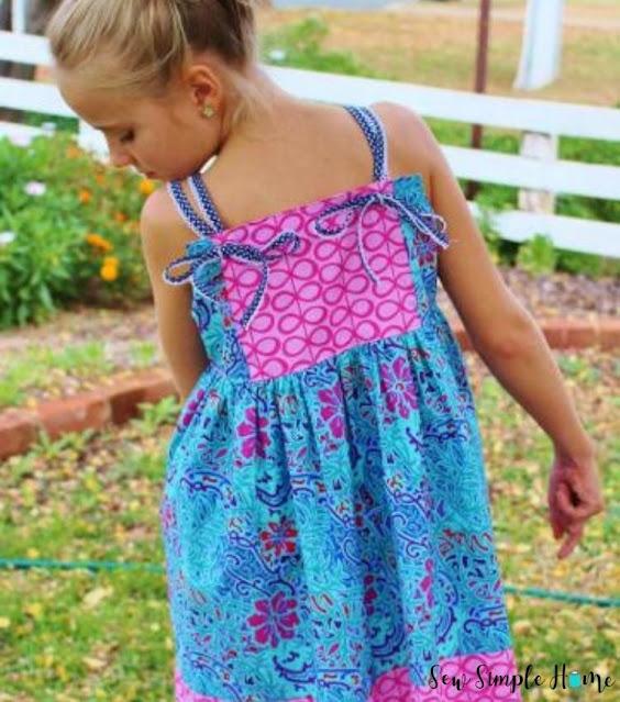 girls sundress pattern