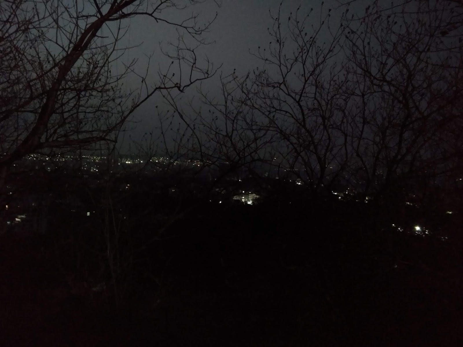Pune hills, tekdi, dawn