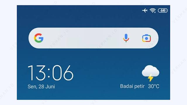 widget google pencarian