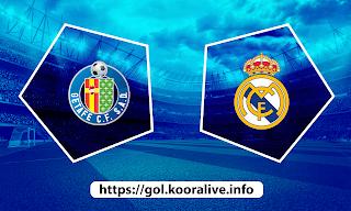 مشاهدة مباراة ريال مدريد ضد خيتافي 18-04-2021 بث مباشر في الدوري الاسباني