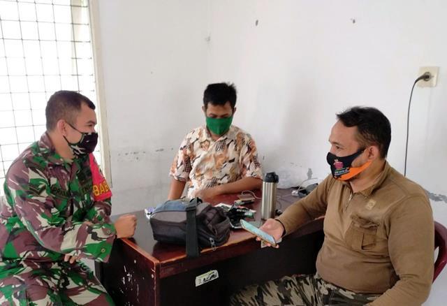Dengan Cara Komsos Sampaikan Gakplin Dilaksanakan Personel Jajaran Kodim 0207/Simalungun