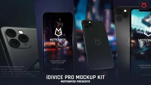 Videohive - iDevice 11 Pro Mockup Kit - App Promo - 24726904