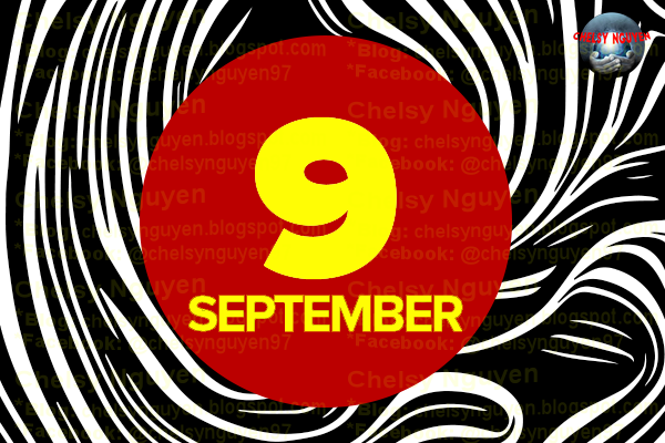 September 9 in Numerology,September month