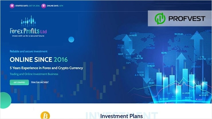 Forex Profits Ltd обзор и отзывы HYIP-проекта