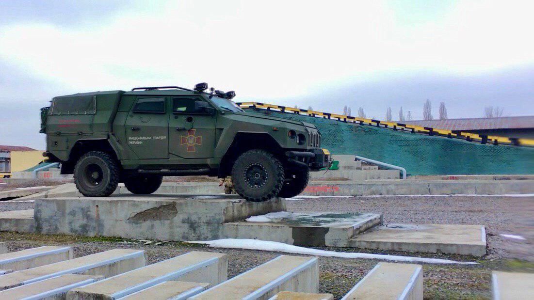 національних випробувань бронемашин організованих Міністерством оборони України