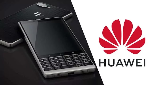 BlackBerry has sold 90 key smartphone patents to Huawei