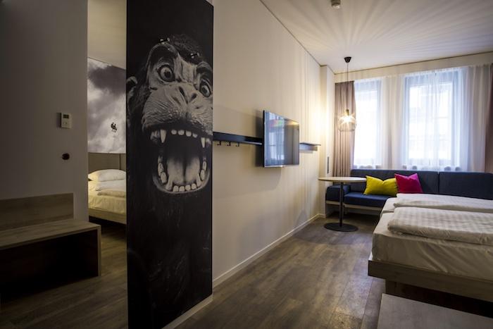 hotel Roomz wiedeń austria gdzie apać