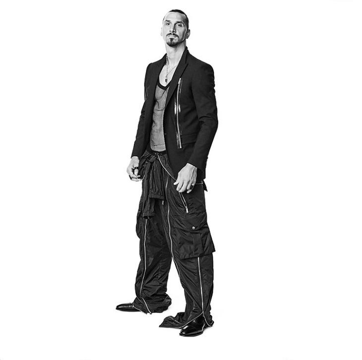 DSquared2 SS2021 Campaign starring Zlatan Ibrahimović