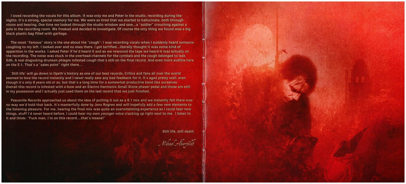 Opeth Album By Album Review Still Life 1999 Randy Rhoads Archive