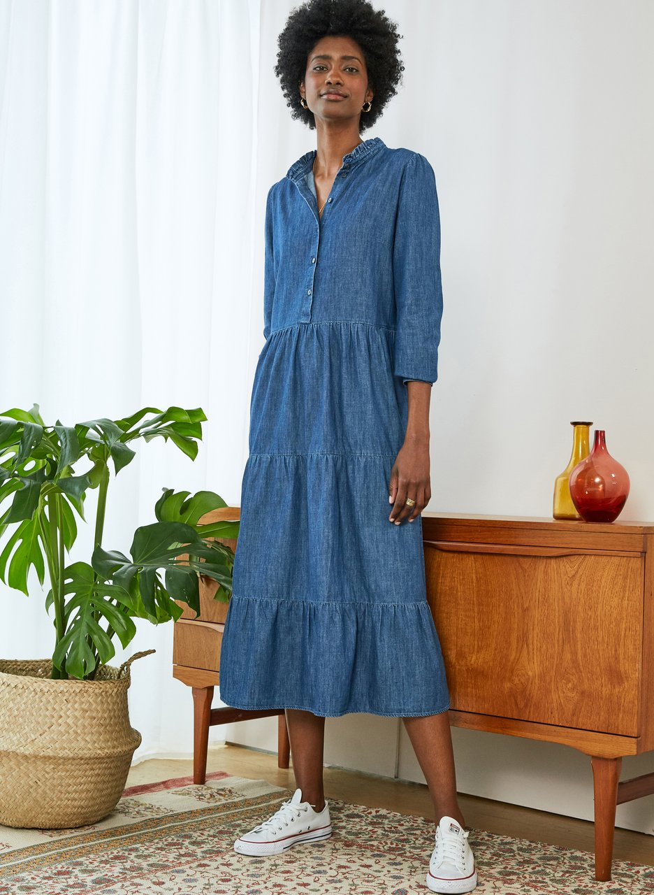 my midlife fashion, Baukjen cadie organic dress