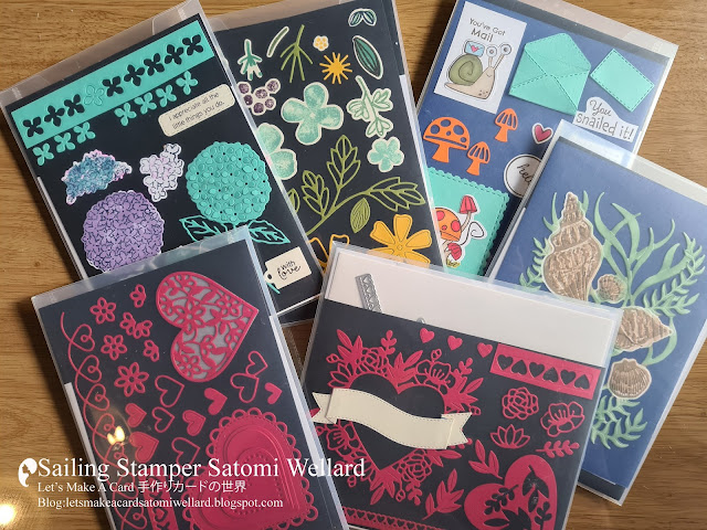 What to do when you get a lot of new dies and stamps all at once sailingstamper 動画プチパニック?新しい製品を大量にゲットしたらまずやること