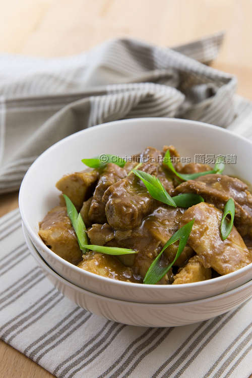 芋頭炆排骨 Braised Pork Ribs with Taro01