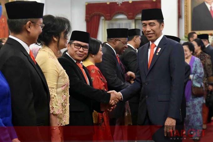 Presiden Jokowi Kenalkan Para Wamen Sebelum Dilantik