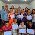 Estudantes de Informática Básica em São Miguel recebem certificados