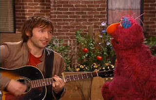 James Blunt sings My Triangle with Telly. Sesame Street Best of Friends