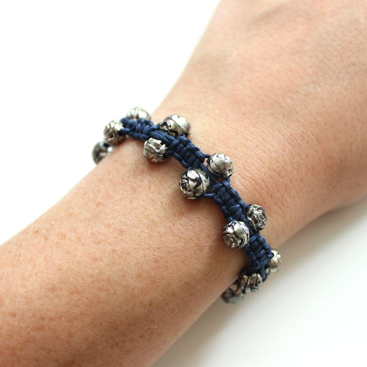 Diy Unique Macrame Beaded Bracelet