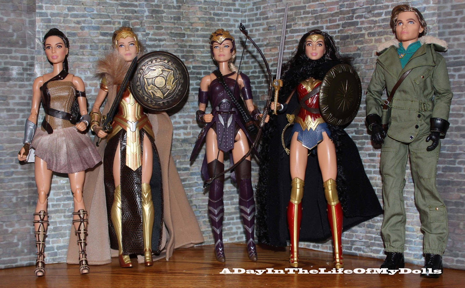 Doll review 2017 black label queen hippolyta doll face three - Doll Review 2017 Black Label Queen Hippolyta Doll Face Three 2
