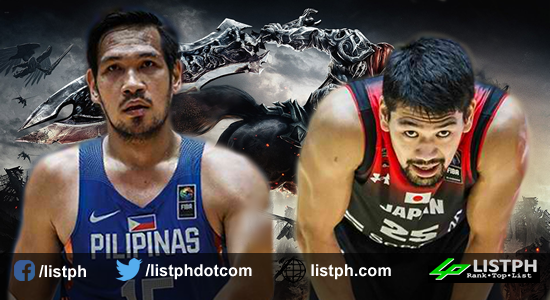 List of Gilas Final 12 vs Japan FIBA World Cup 2019 Qualifiers Asia