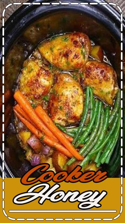 *repinned by @pleasantlypaige, check in for more great pins* The easiest, most unbelievably delicious Slow Cooker Honey Garlic Chicken With Veggies. It's one of my favorite crock pot recipes. Succulent chicken cooked in honey, garlic, soy sauce and mixed vegetables. Preparation is an easy 15 minutes. Easy one pot recipe. Video recipe. | Tipbuzz.com #slowcooker #crockpot #SlowCookerChicken #HoneyGarlicChicken
