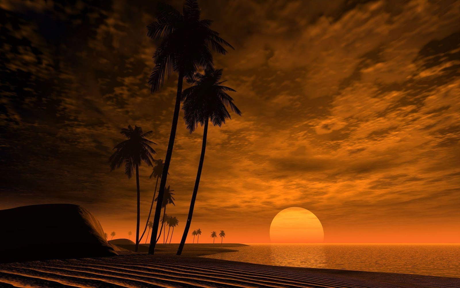 African Sunset Wallpapers Africa Wallpapers