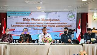 KSU Tanjung Priok Luncurkan Program Manajemen Limbah Kapal Terpadu