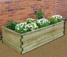 Sleeper Raised Bed 1.8m x 0.9m x 0.45m (Pack of 2)