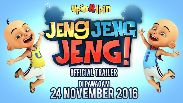 Gara-gara Movie Upin Ipin Jeng Jeng Jeng