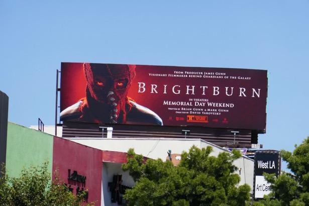 Brightburn movie billboard