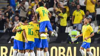 Seleção brasileira vence seu último compromisso do ano.