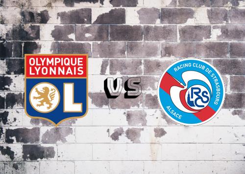 Olympique Lyonnais vs Strasbourg  Resumen