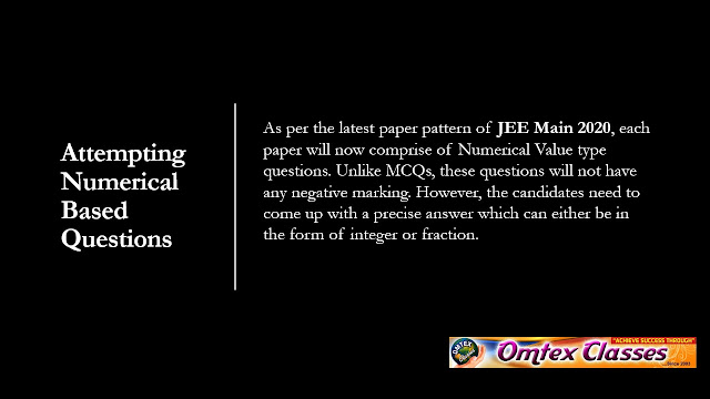 JEE MAIN 2020 BEST TIPS FOR ATTEMPTING PAPER