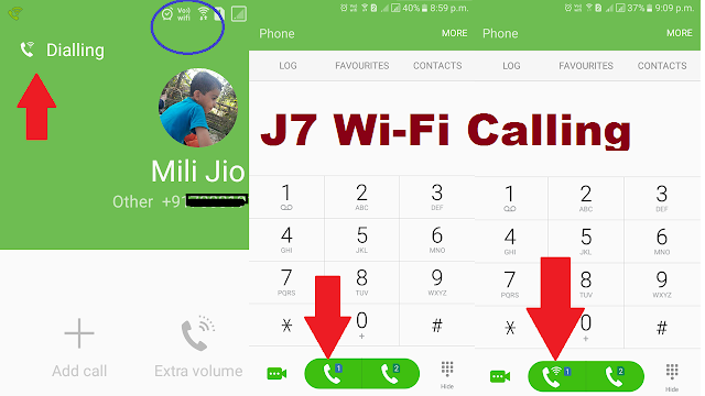 How to Enable Wi-Fi Calling on J7? How to Make Wi-Fi Call Samsung J7
