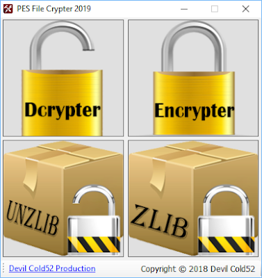 PES File Crypter 2019 By Devil Cold52