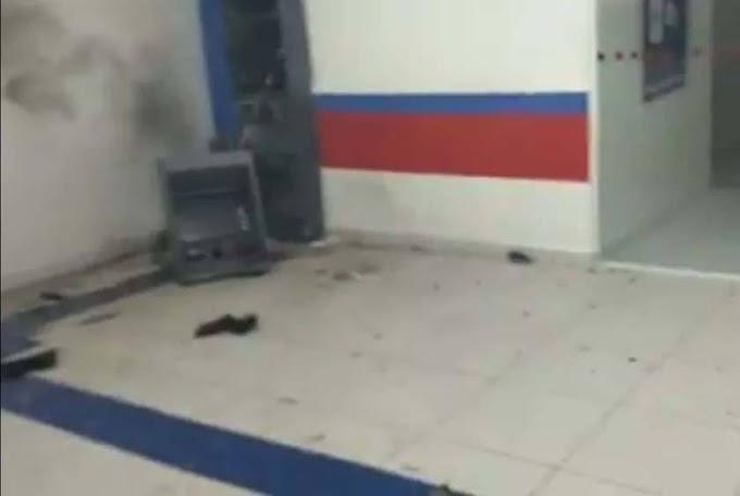 Quadrilha explode agência bancária no Agreste paraibano