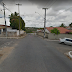 Motorista não respeita a sinalização e atropela motociclista em Jaguaribe.